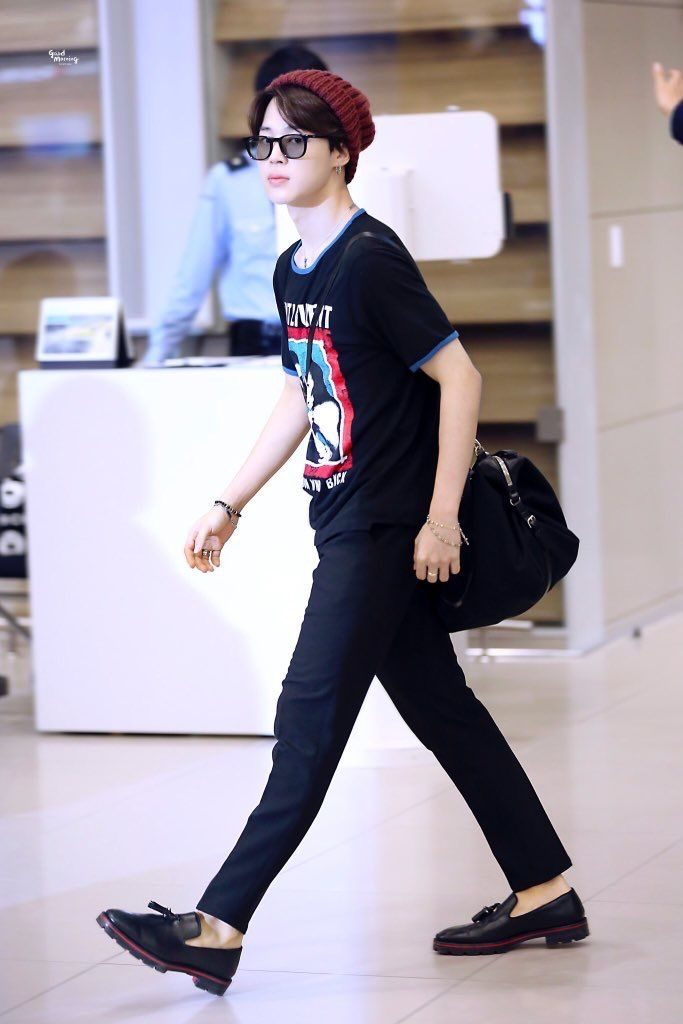 BTS Airport Fashion - Jimin Outfit