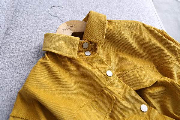 Mustard Yellow Cord Jacket