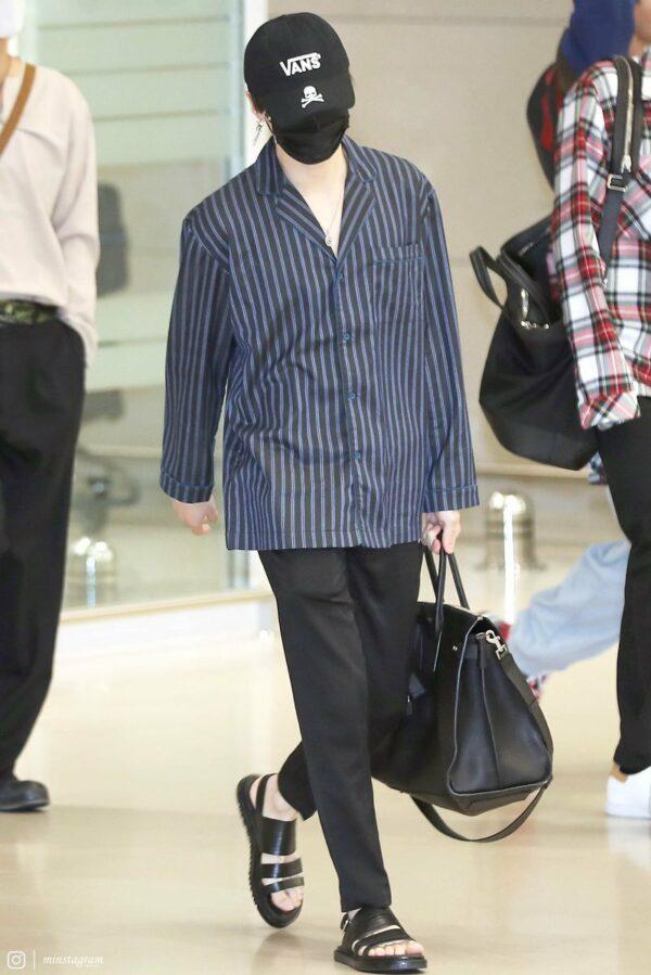 Black Summer Sandals | Suga – BTS