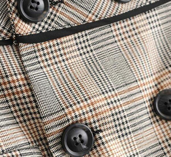 Checkered Skirt