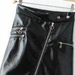 Black Leather Skirt | Yuqi – (G)I-DLE