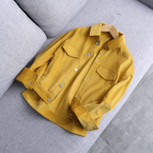 Mustard Yellow Cord Jacket