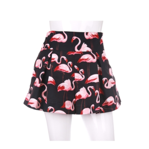 Flamingo Shorts of Wendy in Red Welvet