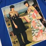 Blue Printed T-Shirt | Taehyung – BTS
