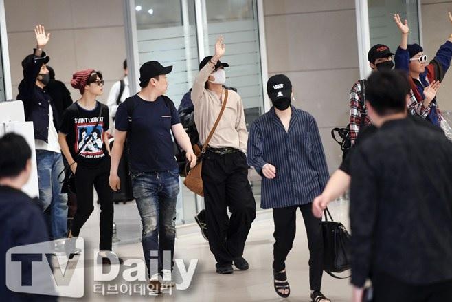 BTS Airport Fashion May 2018 | Suga