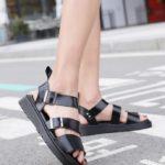 Black Summer Sandals | Suga - BTS
