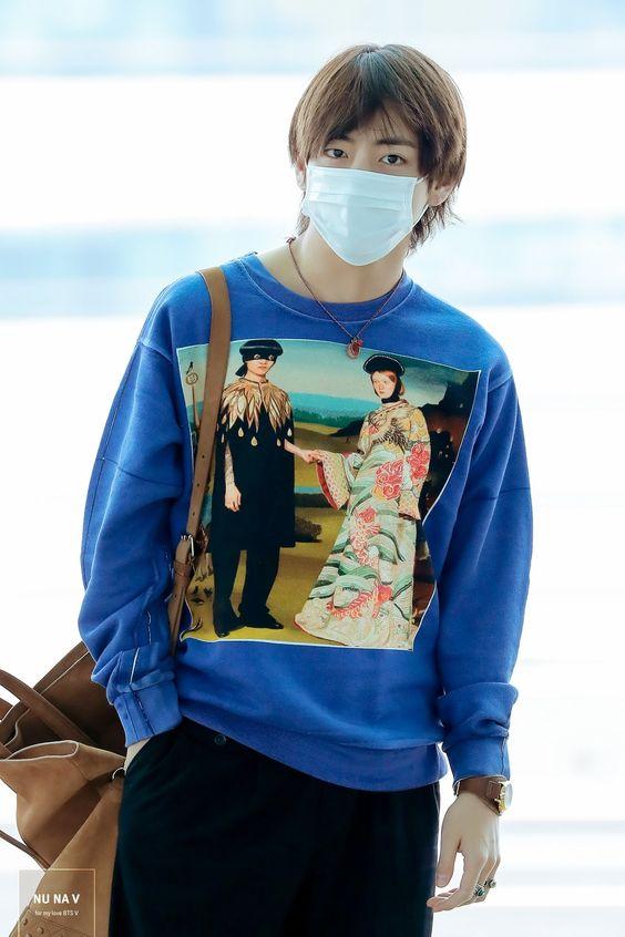 BTS Airport Fashion | Taehyung (V)