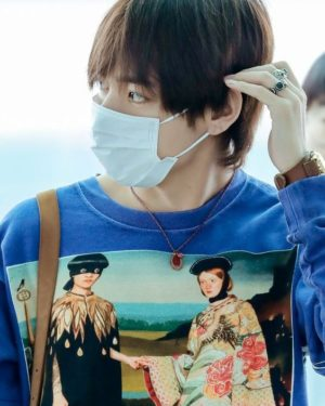 Necklace With Pendant   Taehyung – BTS