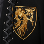 Black Jacket With Yellow Emblem