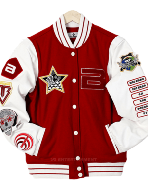 Badgets College Jacket KPOP Fashion