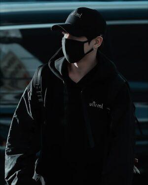 Black Comfy Hoodie | Jungkook – BTS