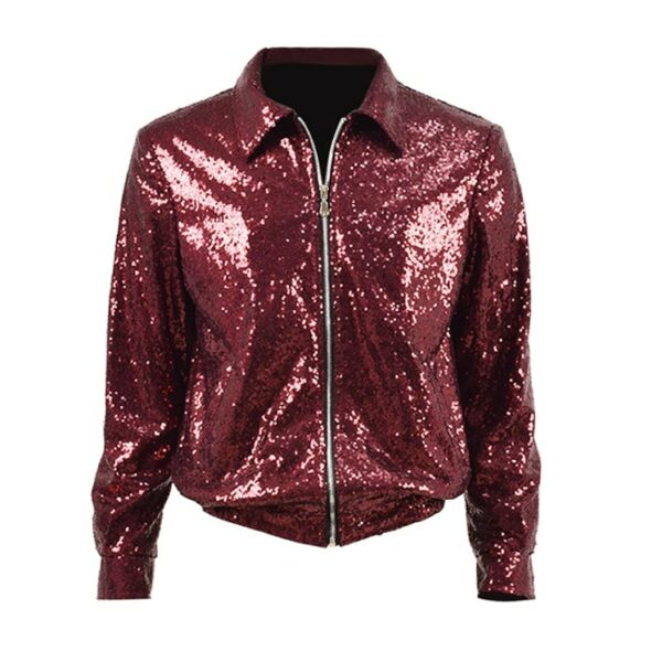 Red Sequin Jacket | Jungkook – BTS