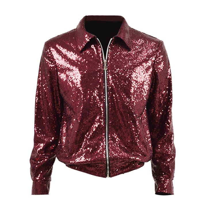 4d2b8421 Red Sequin Jacket | Jungkook - BTS | K-Fashion at Fashionchingu