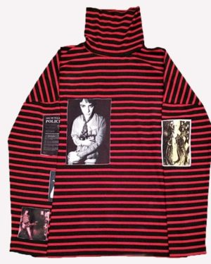 Red Striped Sweater of Jimin - Butterfly Live Sweater