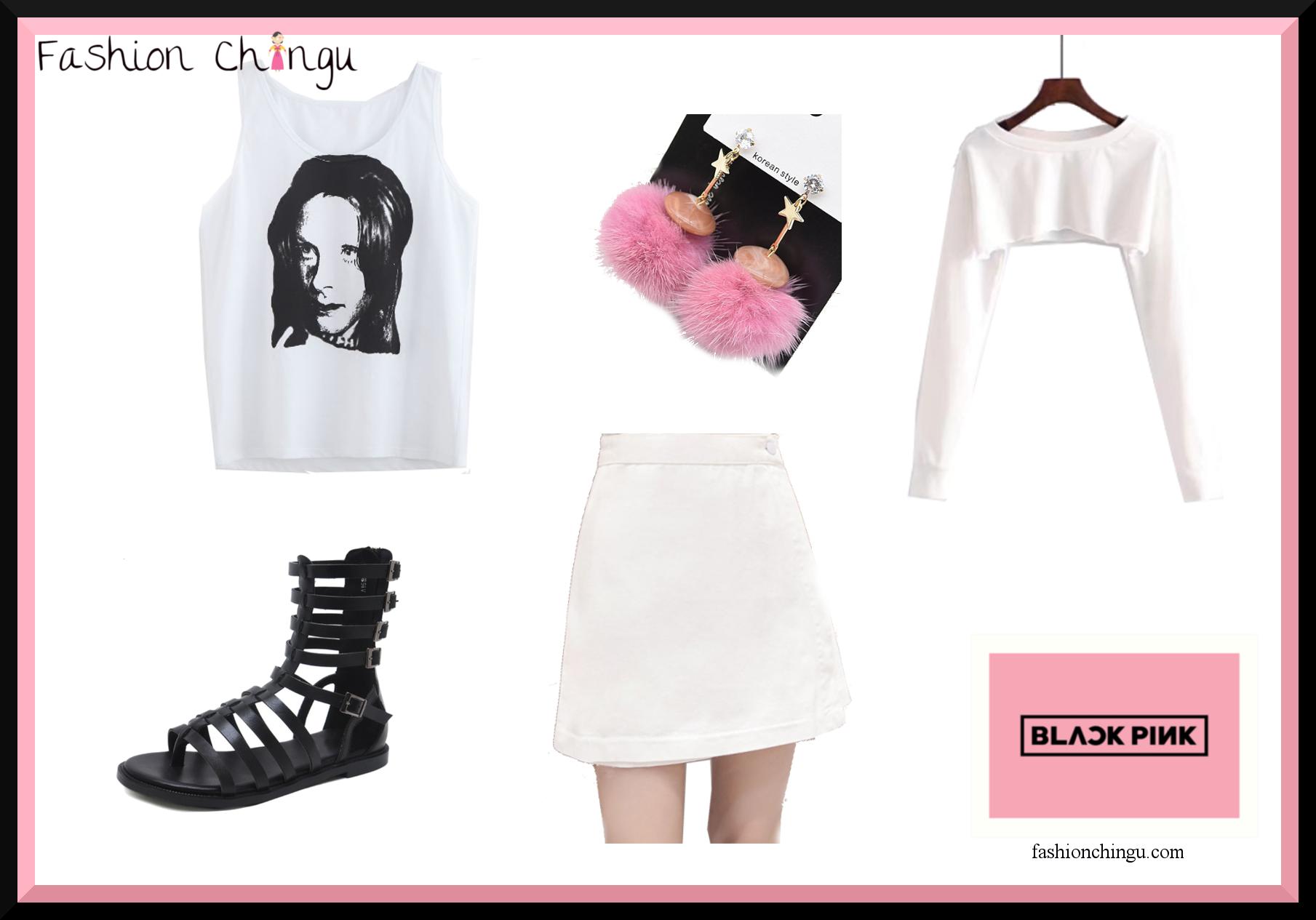 """Blackpink Outfit Ideas: Get BlackPink Jisoos Outfit From """"ddu-du-ddu-du"""""""