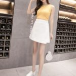 White Jeans Skirt | Jisoo – BlackPink
