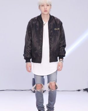 Black Killjoy Jacket | Suga – BTS