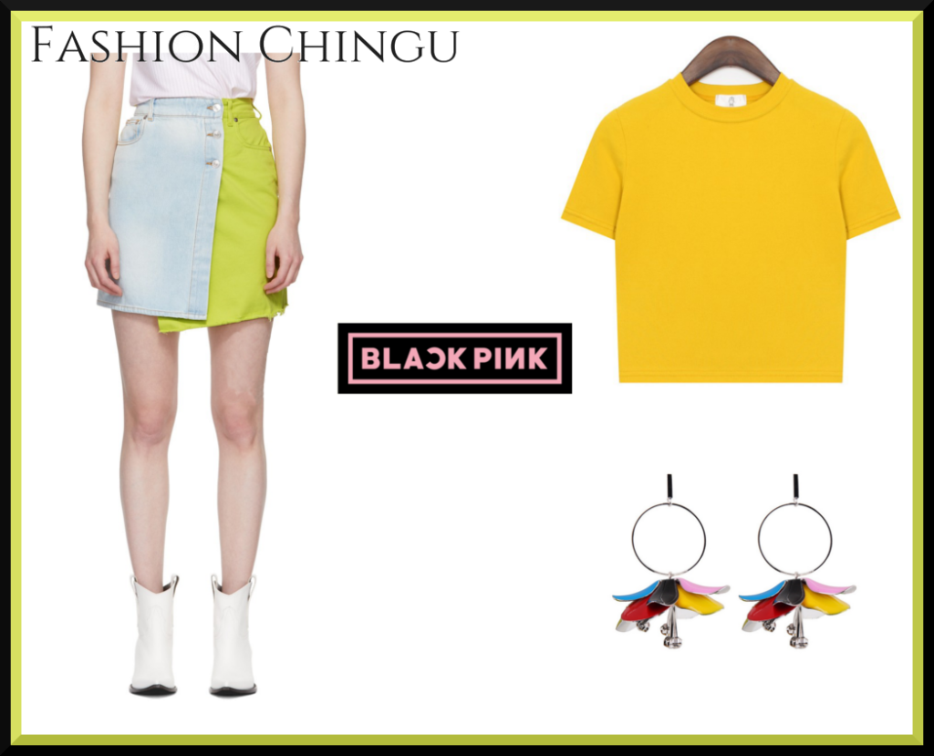 Get Blackpink Lisas Outfit From The Live Performance For Forever Young