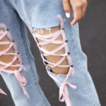 Jeans With Lace | Chung Ha