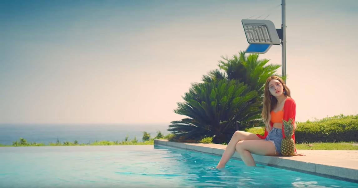 Chungha 'Love U' MV Haul