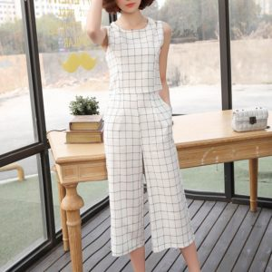 BTS Fashion – Taehyung  – Checkered Shirt and Pants