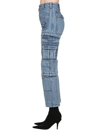 Blue Designer Boyfriend Jeans | Lisa – Blackpink