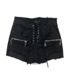 Semina MV Black Biker Shorts