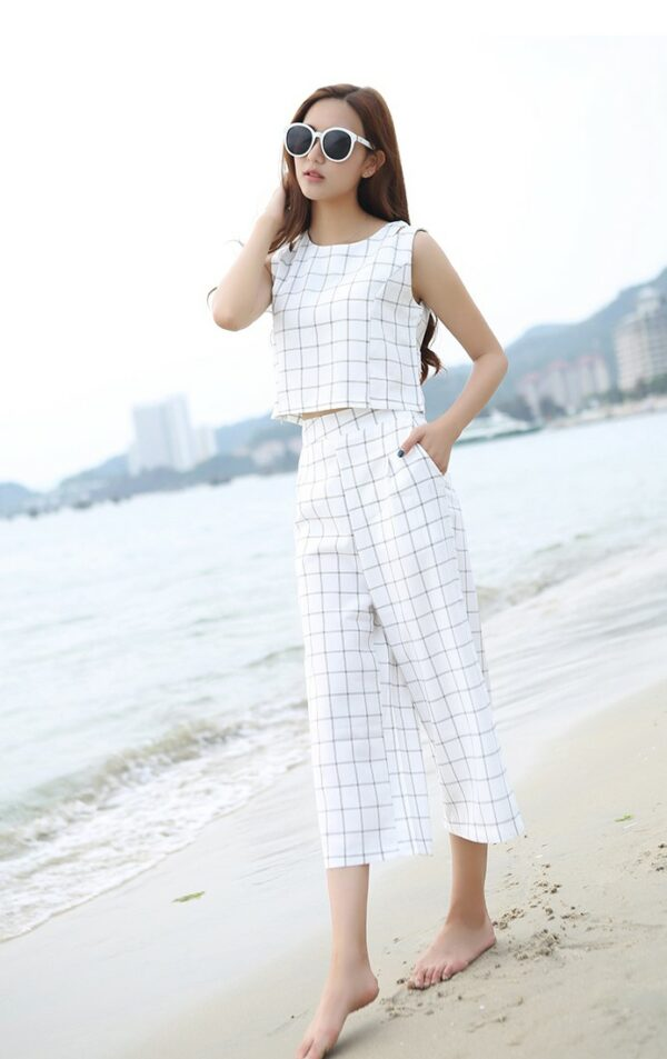 Checkered Set – Pants and Shirt