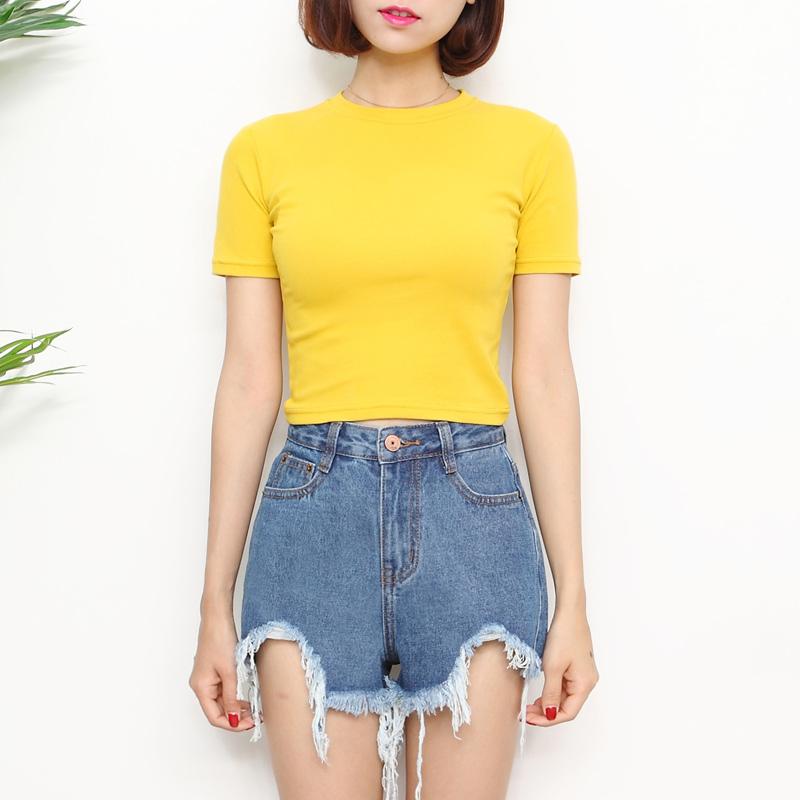 Yellow T Shirt Lisa Blackpink K Fashion At Fashionchingu