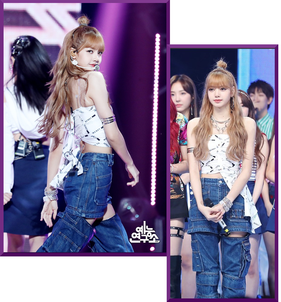 Get Blackpink Lisas Outfit From The Music Core Performance Fashion
