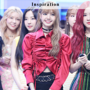 Red Shirring Ribbon Blouse | Lisa – Blackpink