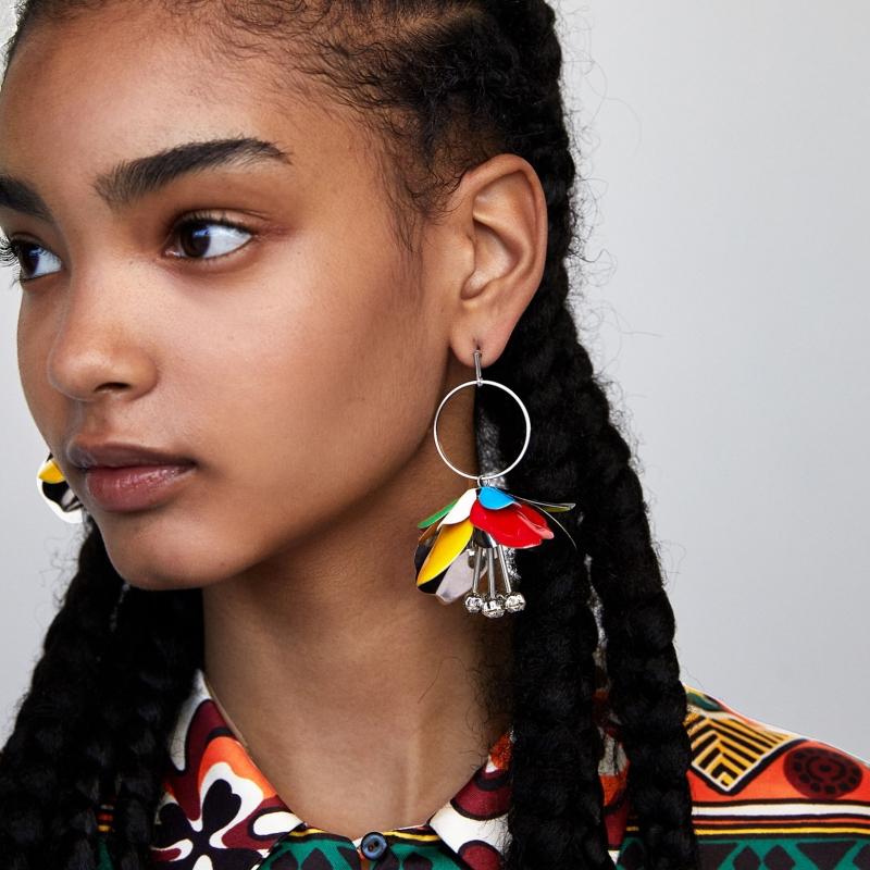 Flower Earrings | Lisa - Blackpink