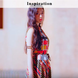 Colorful Diagonal Striped Dress | Shuhua – (G)I-DLE
