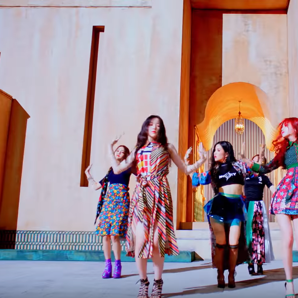 GIDLE Shuha outfit in the MV Hann