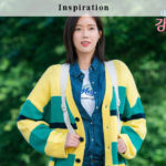 Striped Cardigan| Kang Mi Rae – My ID is Gangnam Beauty
