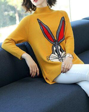 J-Hope Bugs Bunny Sweater (2)