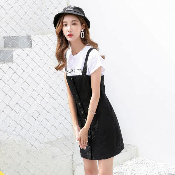 Black Jeans Dress | Kang Mi Rae – My ID is Gangnam Beauty