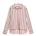 Striped Pink Shirt| Kang Mi Rae – My ID is Gangnam Beauty
