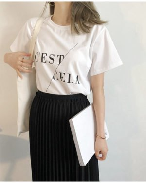 Mi Rae CEST CELA T-Shirt