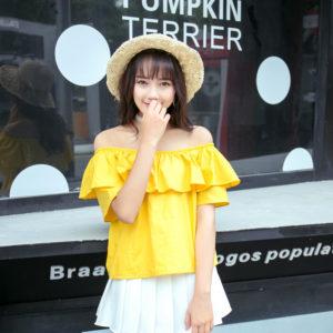 Red Velvet Power Up MV Seulgi Yellow Shirt