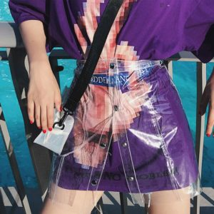 Soyeon Transparent Skirt