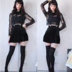Top with Lace and Skirt Set | Jennie – Blackpink