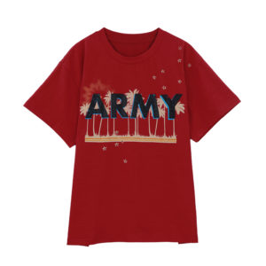 BTS Jimin ARMY T-Shirt at the Music Bank Performance for I'm Fine