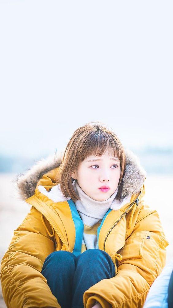 Yellow White Striped Sweater | Kim Bok Joo – Weightlifting Fairy Kim Bok Joo