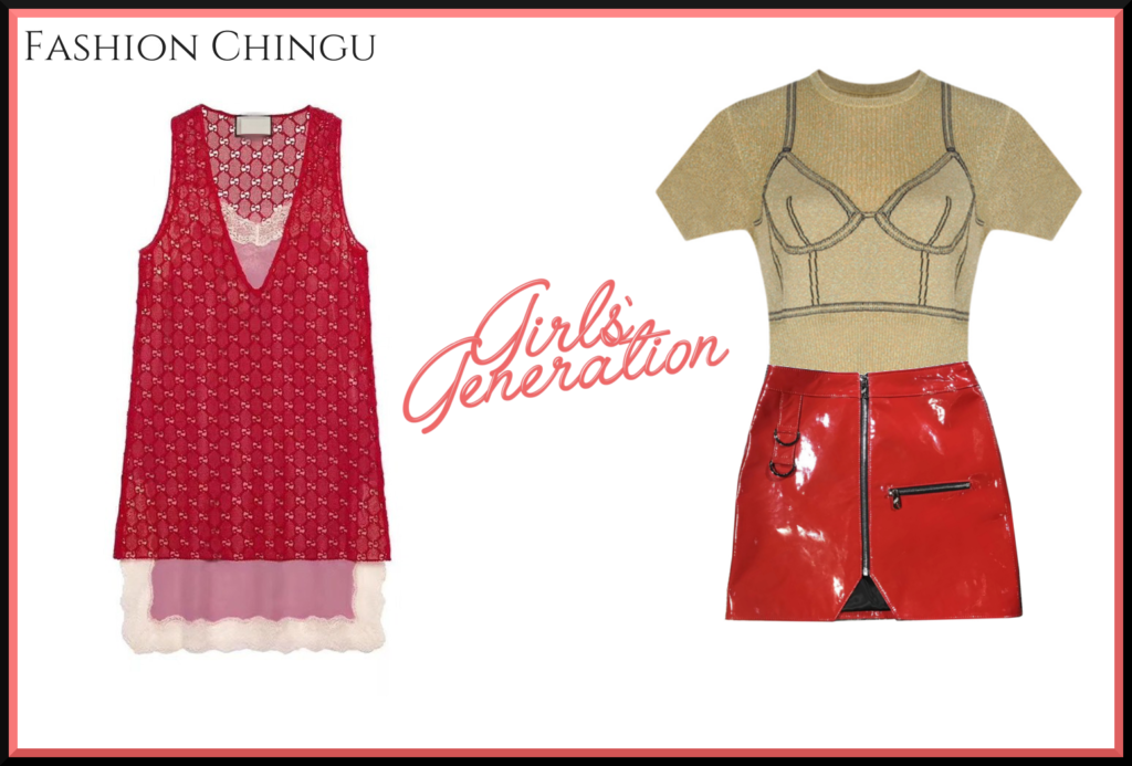 Taeyeon and Yoonas Fashion in Lil Touch from SNSD
