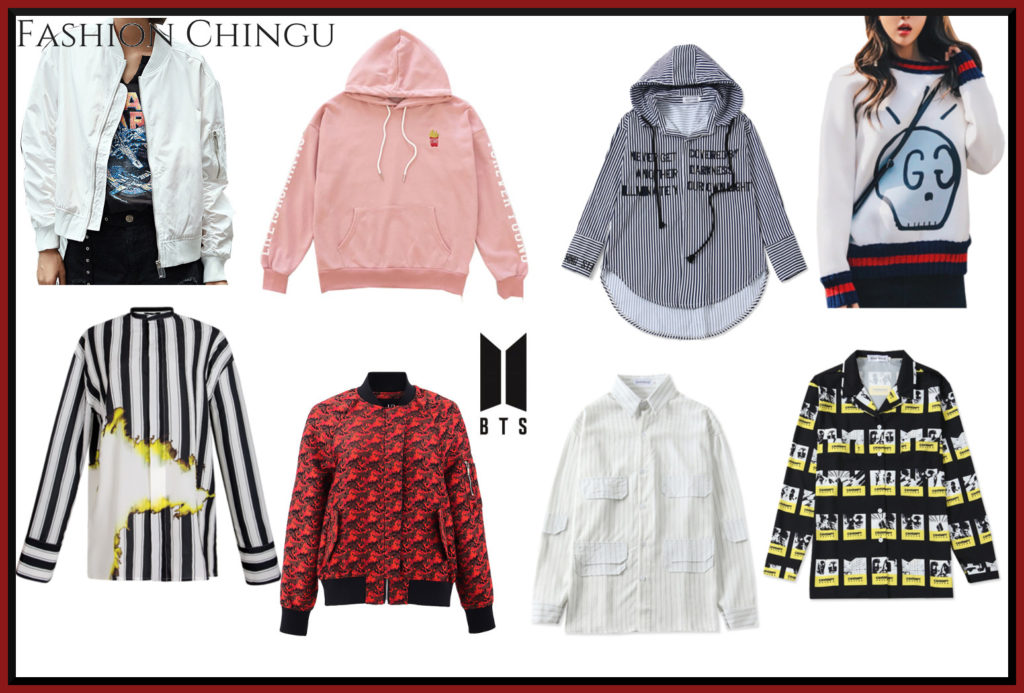BTS Iconic Fashion Ideas collected