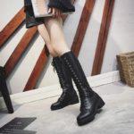 Black Lace Boots | Jisoo – BlackPink