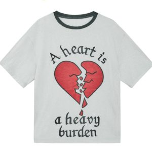 BlackPink Jisoo Lotte Family Festival Heart is a heavy burden T-Shirt