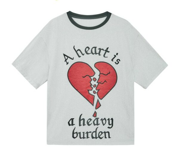 'A heart is a heavy burden' T-Shirt | Jisoo – BlackPink