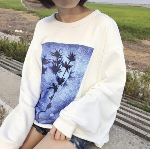 Flower Silhouette Pullover | Jungjaehyun – NCT
